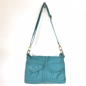 Fossil Crossbody Fold-Over 3-Way Bag